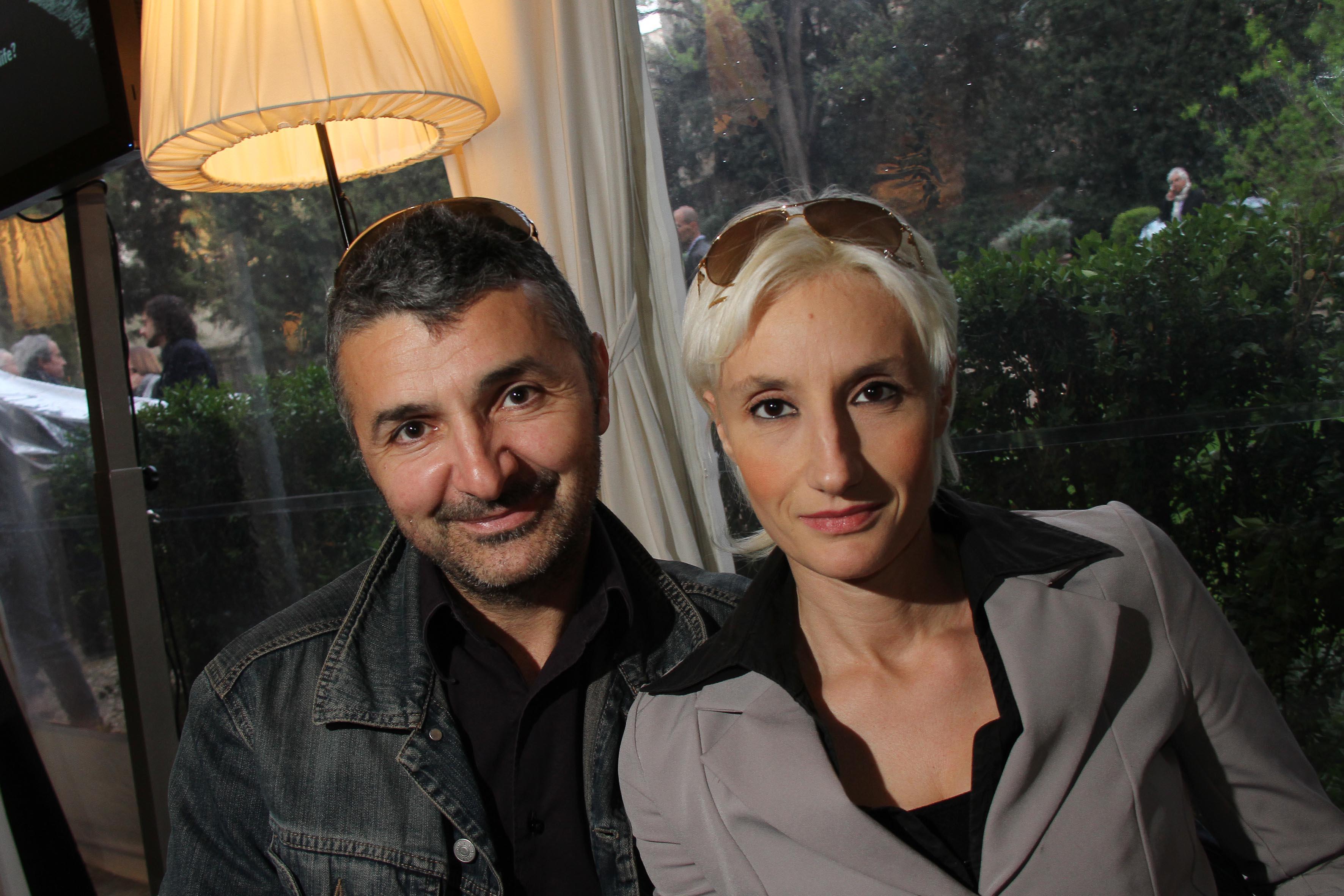 PRESSPHOTO Firenze Made in Tuscany,  presentazione nuova Porsche al Loft: Luca Innocenti e Paola Chicchi