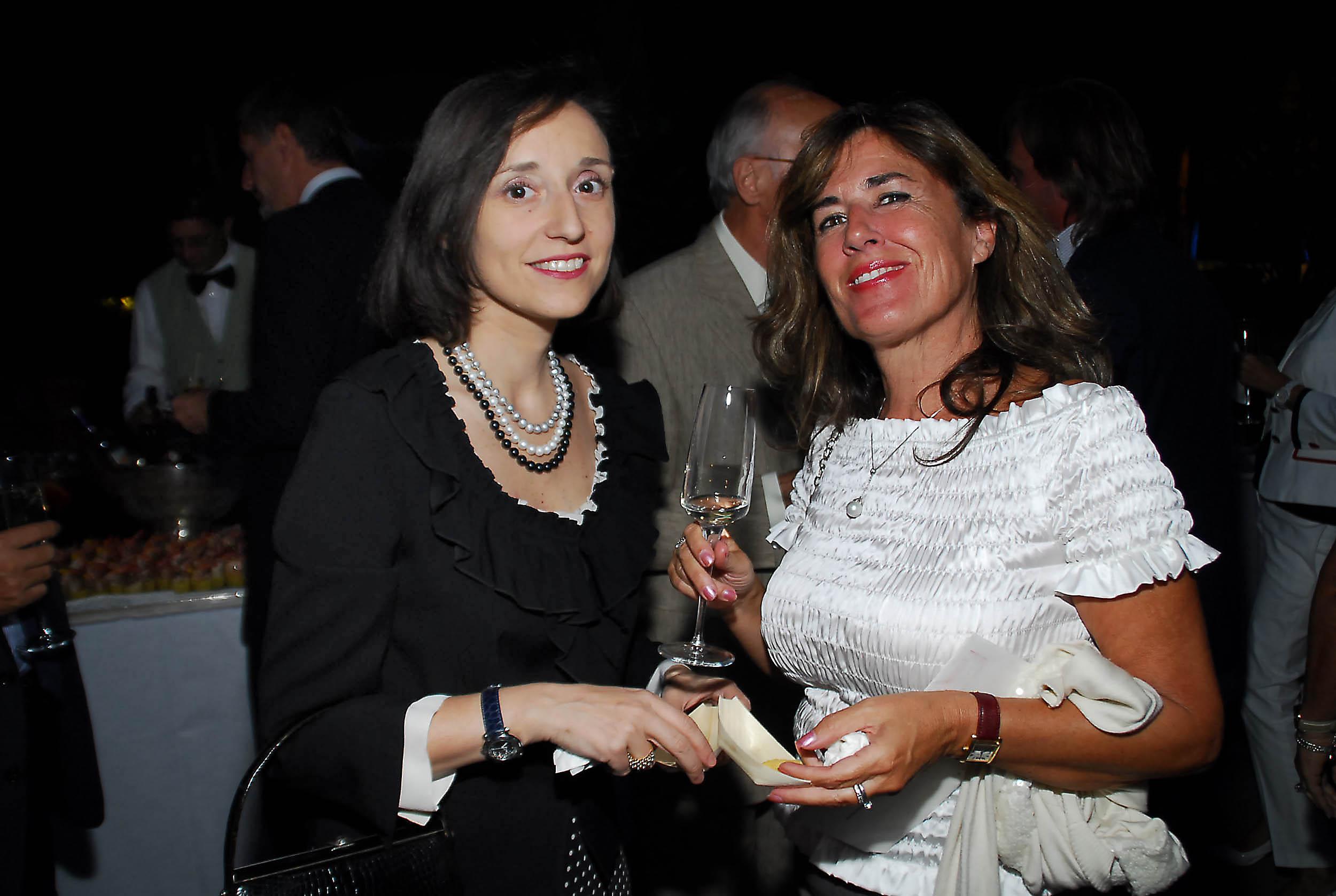 PRESSPHOTO  Firenze, Resort Villa Olmi, presentazione Porsche Panamera. Nella foto Silvia Betti e Serena Miraldi