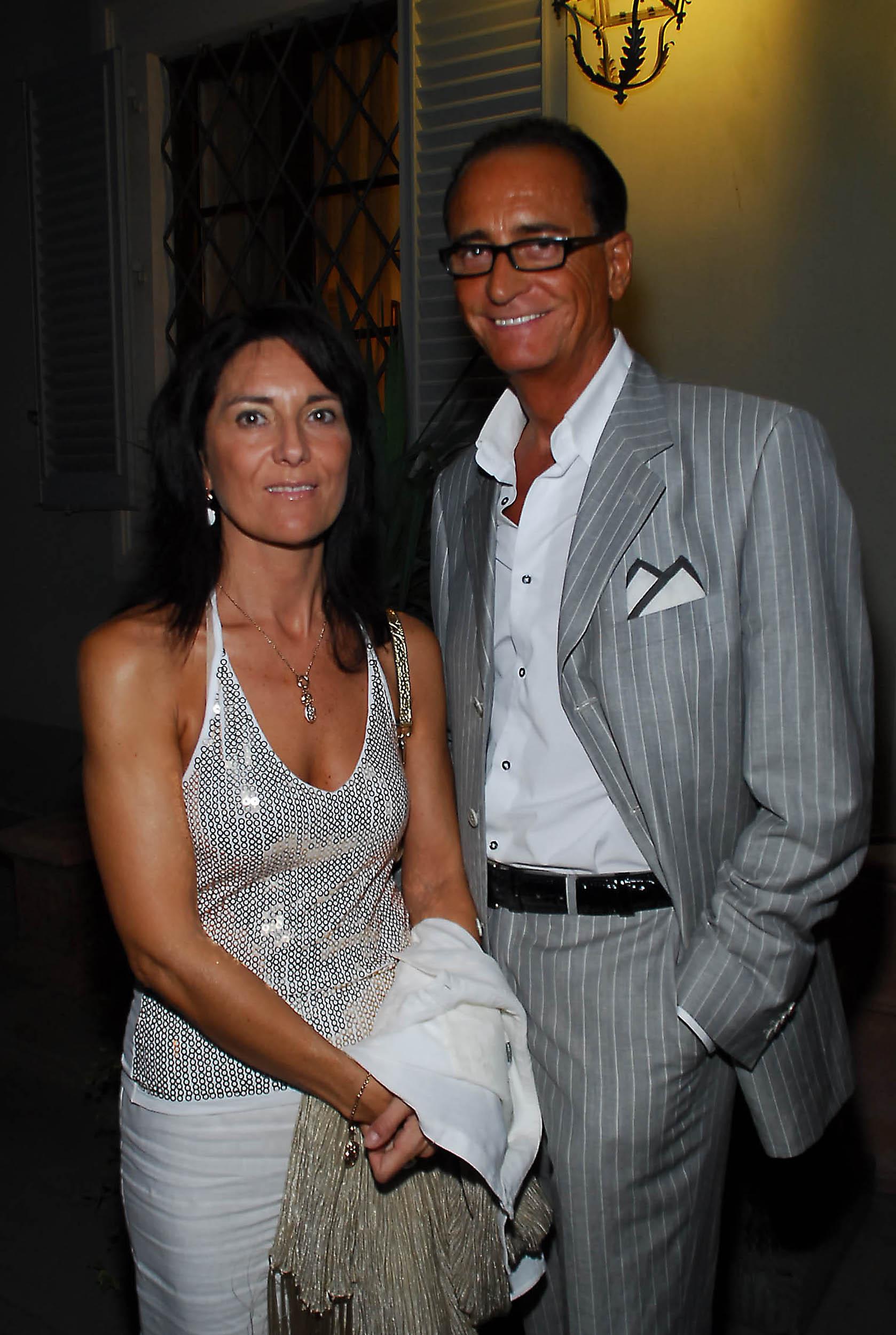 PRESSPHOTO  Firenze, Resort Villa Olmi, presentazione Porsche Panamera. Nella foto Stefano e Valeria Natucci