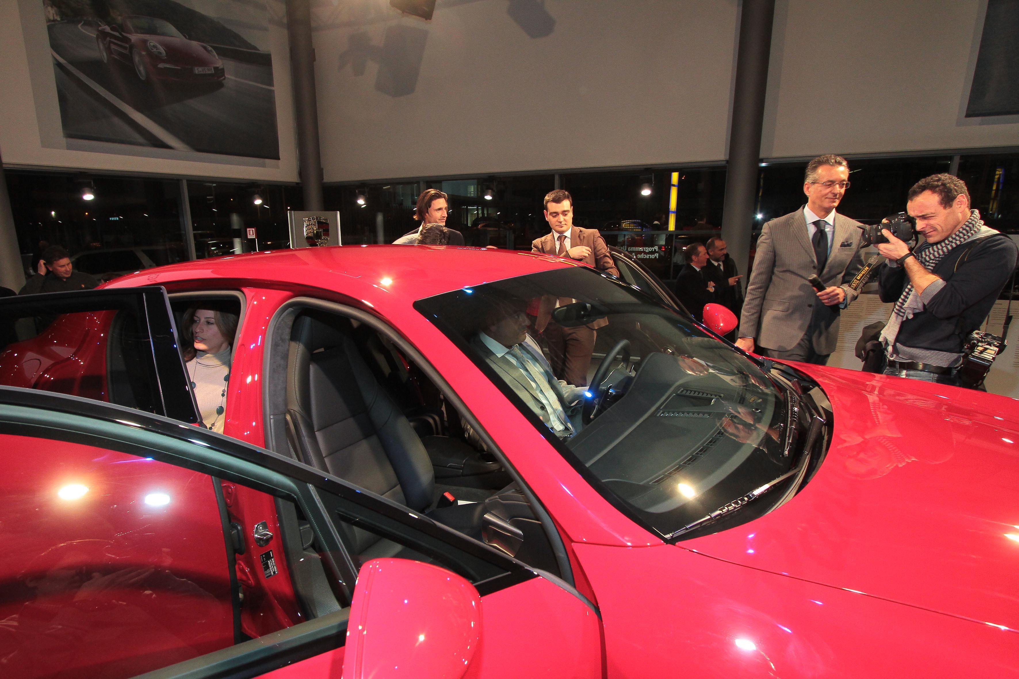 PRESSPHOTO Firenze, Centro Porsche Firenze, presentazione nuova Porsche Panamera GTS. Nella foto