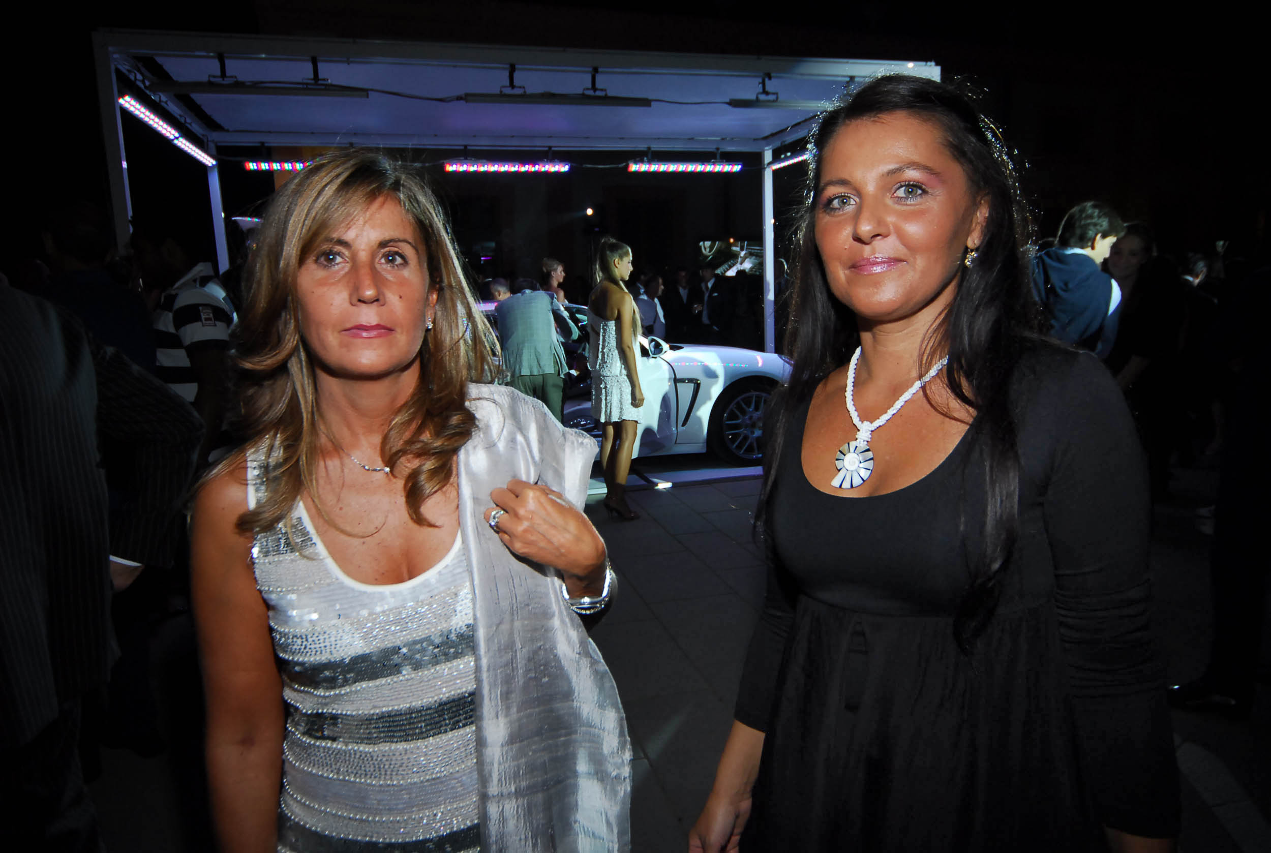 PRESSPHOTO  Firenze, Resort Villa Olmi, presentazione Porsche Panamera. Nella foto Sandra Mecacci e Mariana Opris