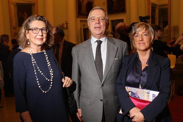 Annamaria Pellegrini, Fabrizio Frediani e Laura Cantini