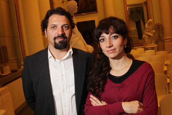 Alessandro and Elisa Zadi