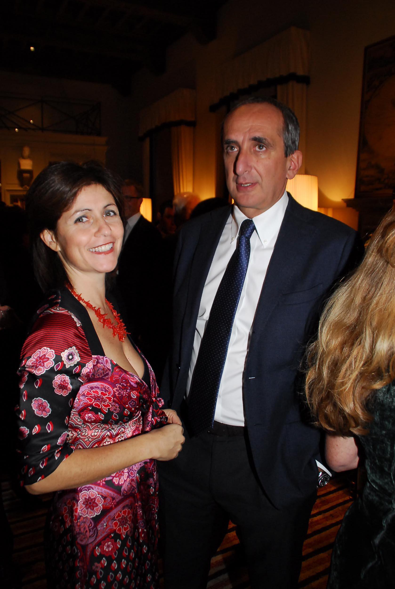 PRESSPHOTO Firenze, Cinema Odeon, Renzi assegna il Fiorino d'oro a Charles Aznavour, segue cena di gala a Palazzo Tornabuoni. In foto Giorgio Van Straten