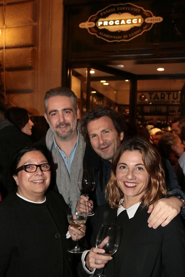 Sylvie Bonas, Matteo Parigi Bini, Lorenzo Ristori, Monica Sarti
