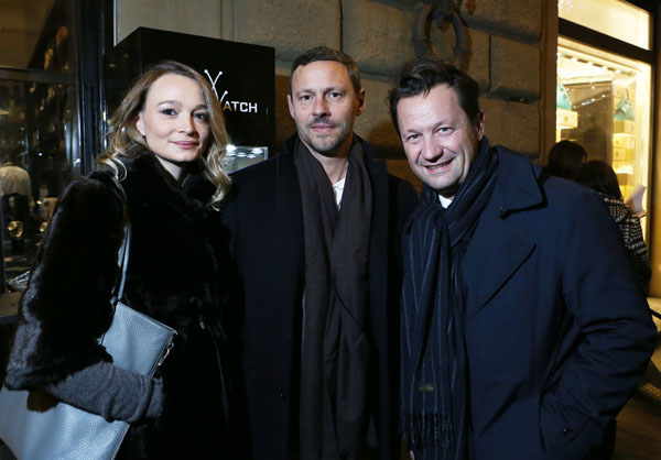 Eva Terrosi, Giovanni Belloni, Giovanni Pugliese