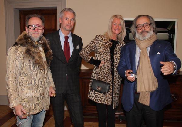 Paolo, Guendalina Poli, Paolo Vermigli e Ricci