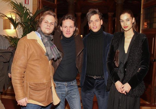 Francesco Cocchi, Eduardo Bisanzi, Massimo, Lisa Russo