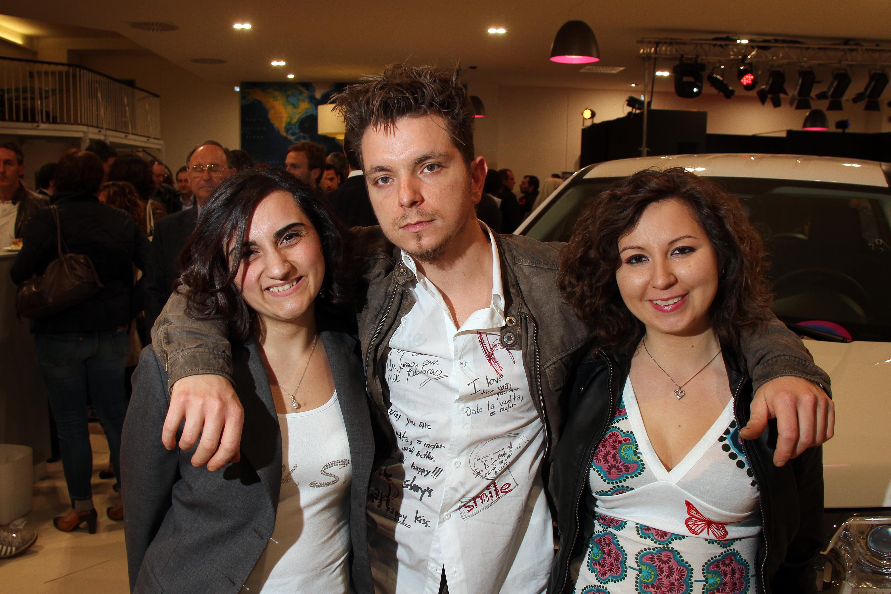 PRESSPHOTO Prato, Range Rover per Firenze Made in Tuscany: Serena Vinciguerra, Francisco Marino ed Isabella Pini