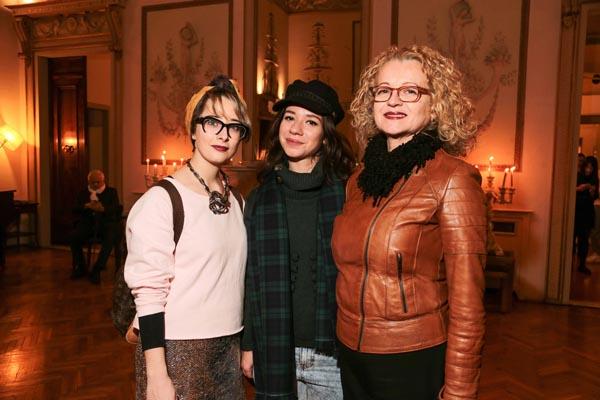 Cecilia Toppan, Alessia Valcini e Tiziana Marchi