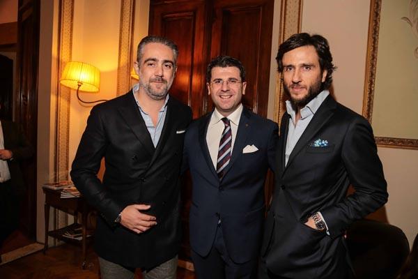 Matteo Parigi Bini,  Daniele Carta,  Alex V. Lana
