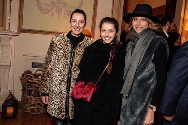 Felicita Bonelli, Ludmilla Giannini e Fiammetta Vanelli