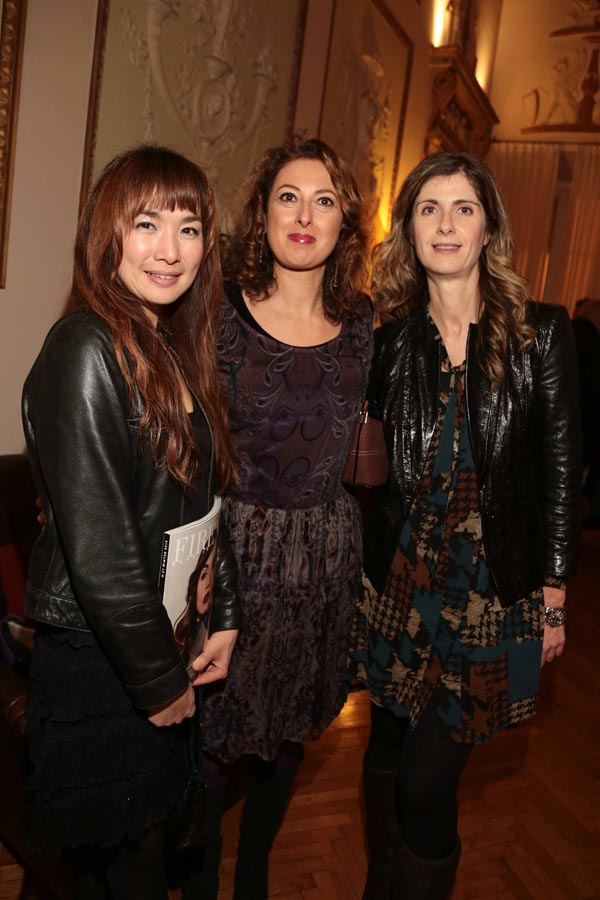 Ryogo Fujihara, Veronica Triolo e Angela Caroli