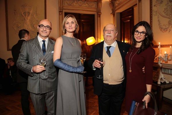 Giuseppe Solimene, Rosy Solimene, Gianni Lusena, Victoria Karalyunets