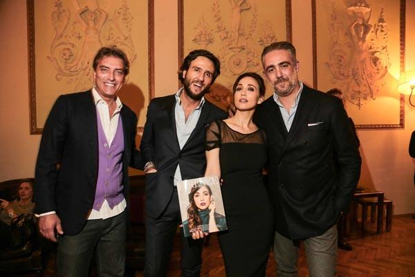 Chicco Coda, Alex V. Lana, Chiara Francini, Matteo Parigi Bini