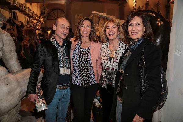 Ugo Nicolini, Giovanna Luzi, Antonella Romani, Rossella Sacco
