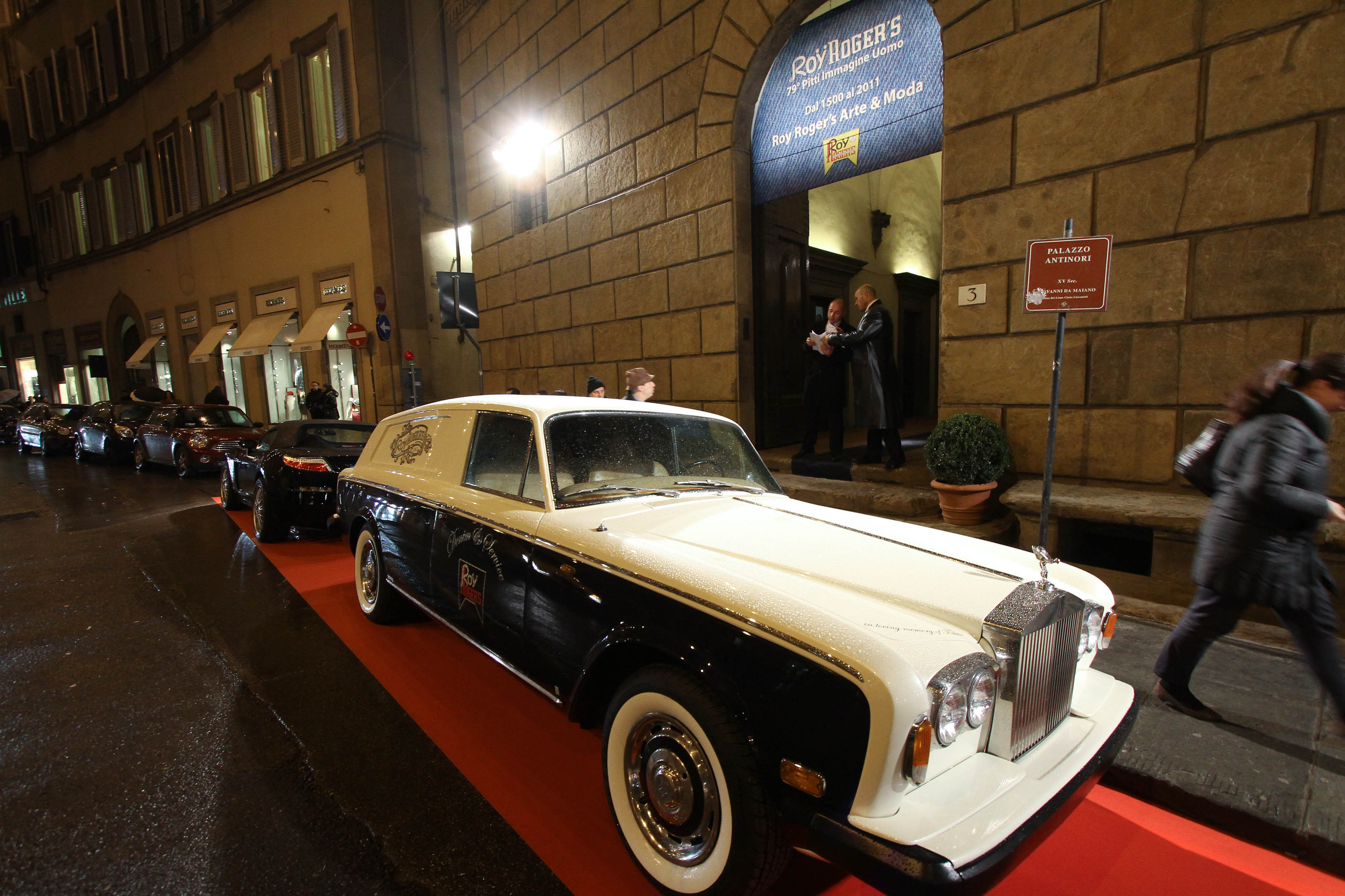 PRESSPHOTO  Firenze, Palazzo Antinori, festa Roy Rogers. Nella foto