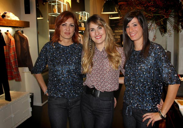 Claudia Amadori, Claudia Sguanci, Cristina falchi