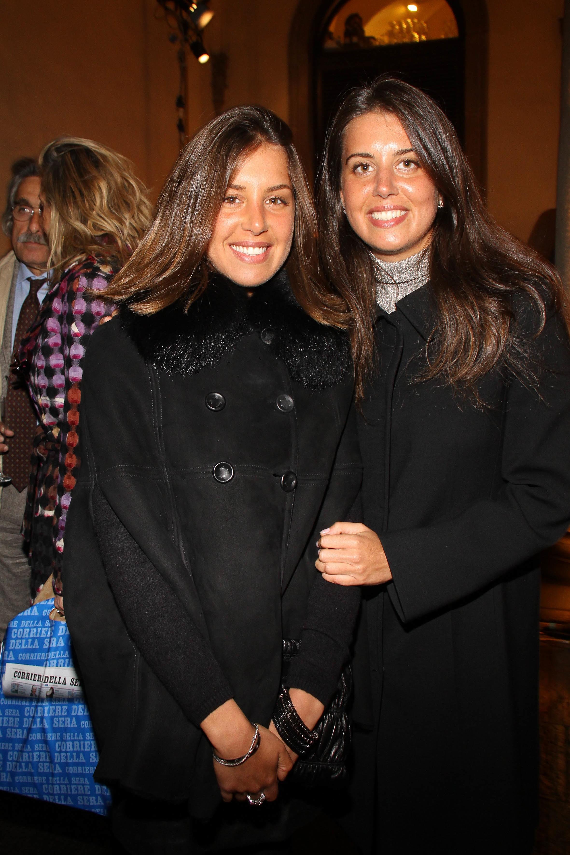 PRESSPHOTO  Firenze, Palazzo Antinori, festa Roy Rogers. Nella foto Giulia e Vittoria Corsi