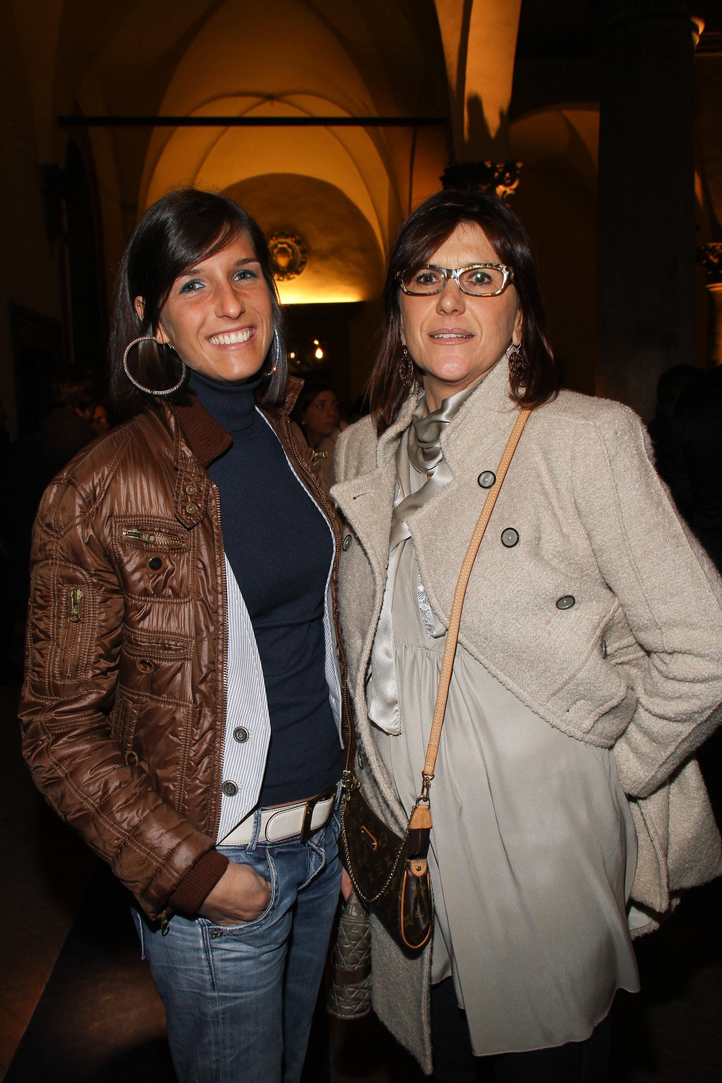 PRESSPHOTO  Firenze, Palazzo Antinori, festa Roy Rogers. Nella foto Camilla e Anna Galli