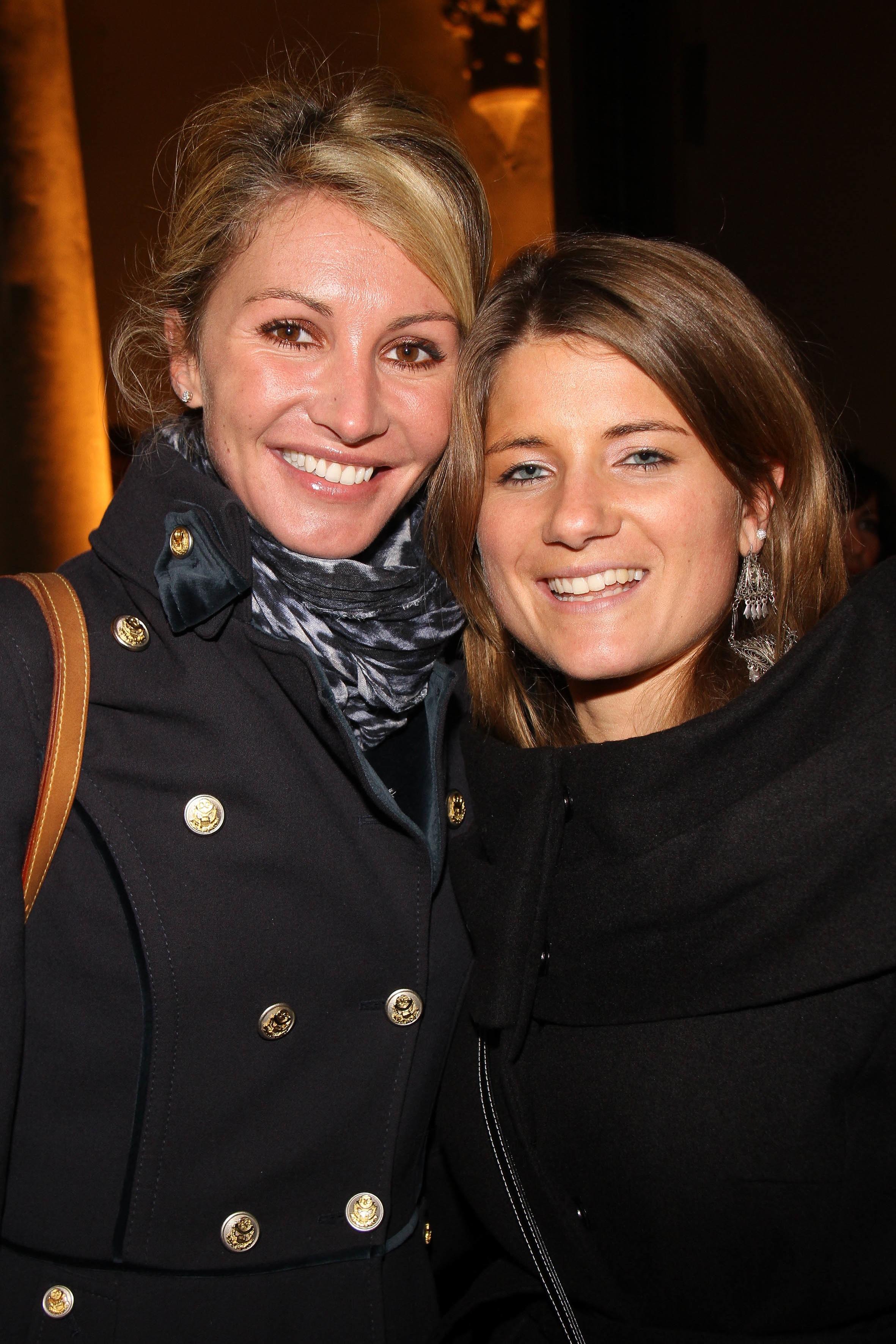 PRESSPHOTO  Firenze, Palazzo Antinori, festa Roy Rogers. Nella foto Ginevra Pontello e Francesca Vannucchi