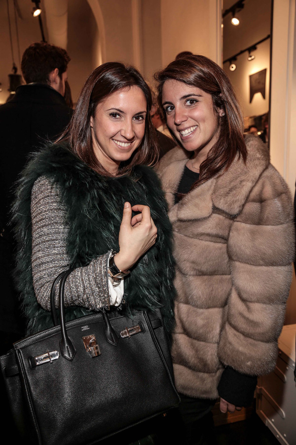 Viola Fantoni and Ludovica Fagioli