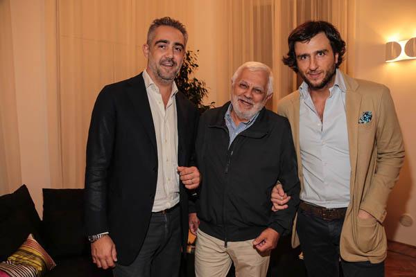 Matteo Parigi Bini, Ambrogio Brenna,  Alex Vittorio Lana