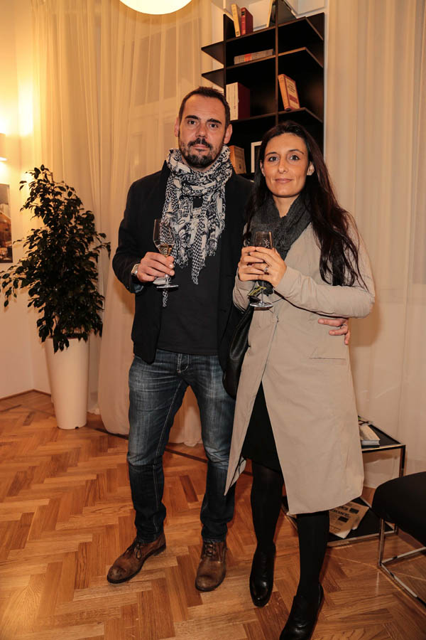 Andrea Olianti and Erika Ghilardi