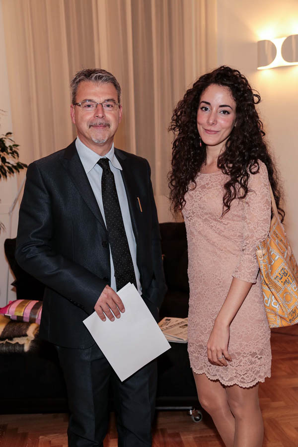 Paolo Zampini and Antonia Fino