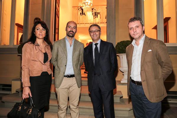 Emanuela Tavolini, Andrea Gallinelli, Giovanni Del Vecchio and Stefano Pandolfi