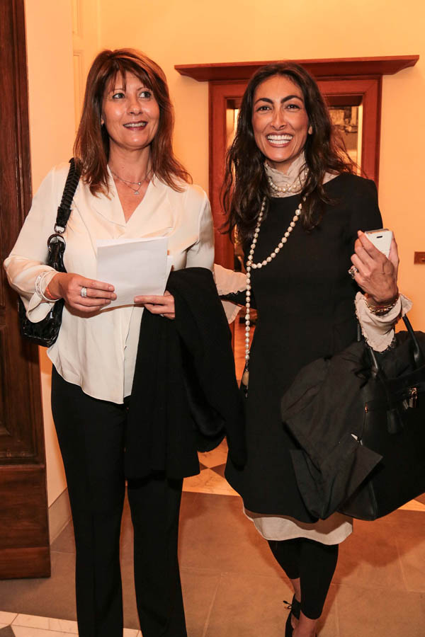 Simona Torrini and Emanuela Benedetti