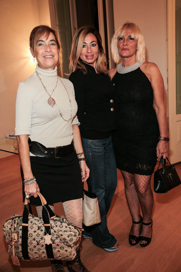 Giusi Coscarella, Simona Naldini and Monica Berti