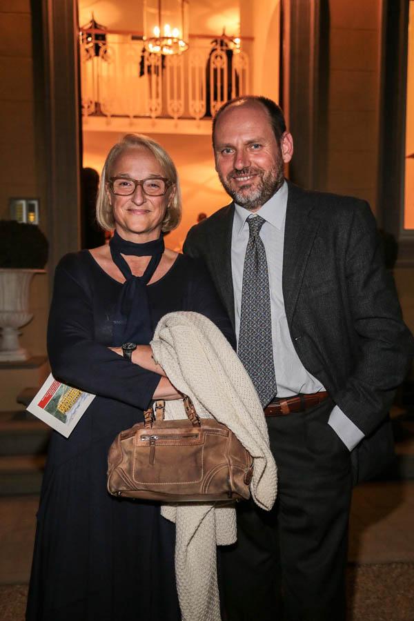 Giovanna Acquisti and Michele Legnaioli