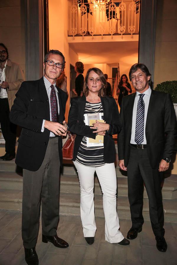 Neri Torrigiani, Ginevra Marchi, Marco Cervi