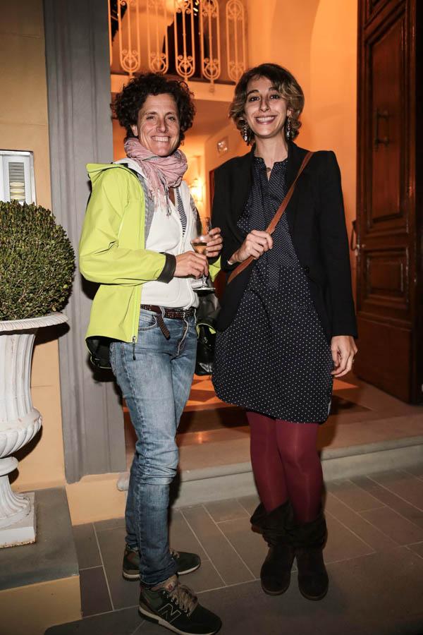 Fiona Sangiuliano and Maddalena Fossombroni
