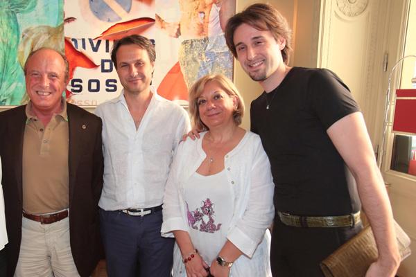 Andrea Bonciani, Ulderigo Fusi, Angela Arcuri, Nereides D'Aragona
