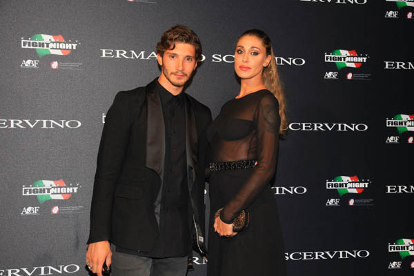 Stefano Martini and Belen Rodriguez