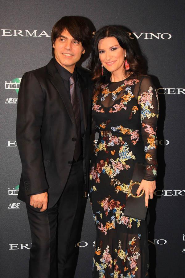 Paolo Carta and Laura Pausini