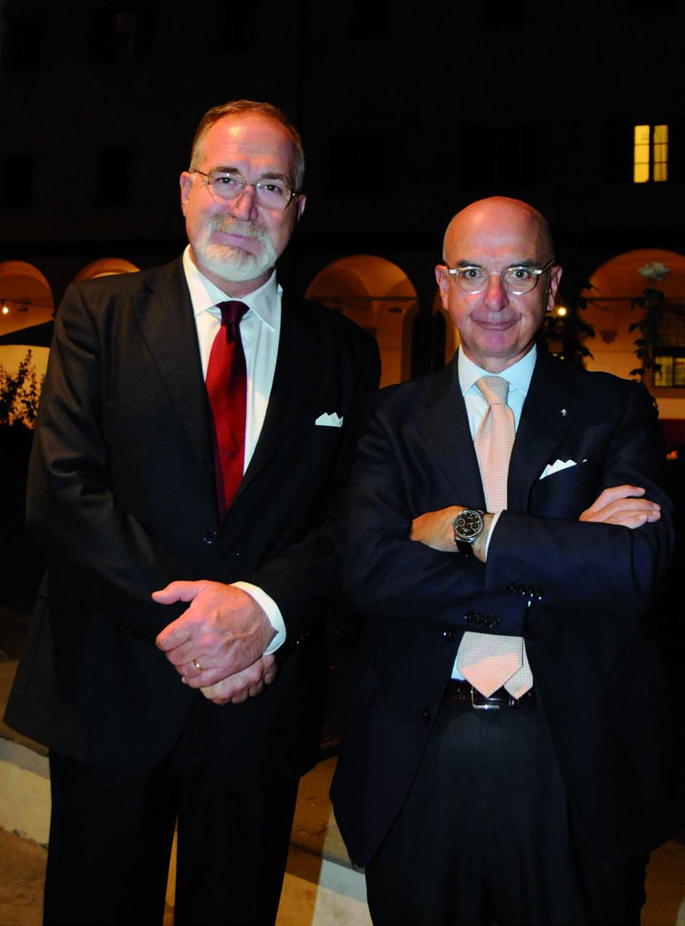 Pressphoto, Firenze Magazine, Serata Piccini al Convitto della Calza,: Ugo Pancani, Carlo Maria Ceppi