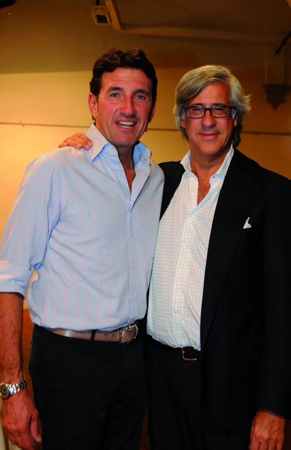 Pressphoto, Firenze Magazine, Serata Piccini al Convitto della Calza,: Giovanni Galli, Sandro Fratini