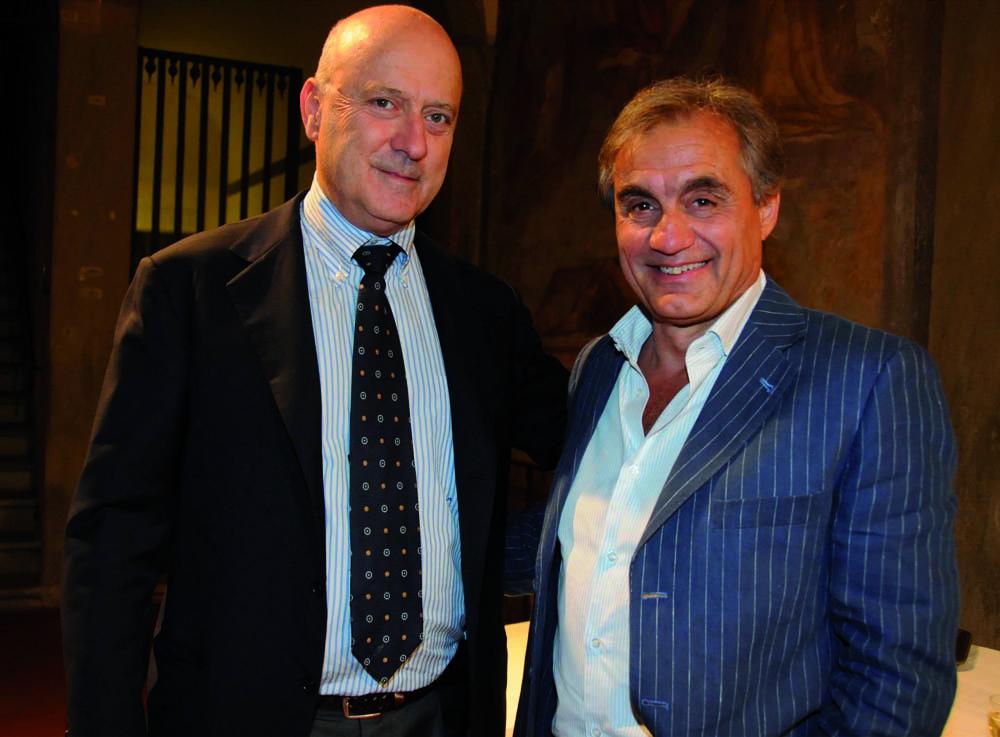 Pressphoto, Firenze Magazine, Serata Piccini al Convitto della Calza,:  Luciano Meoni, Riccardo Ardovini