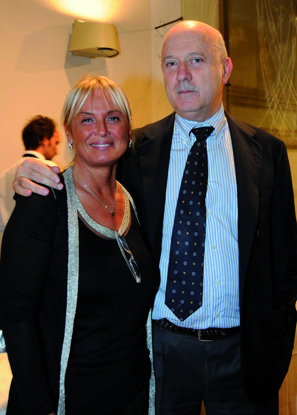 Pressphoto, Firenze Magazine, Serata Piccini al Convitto della Calza,: Mariangela Fagioli, Luciano Meoni