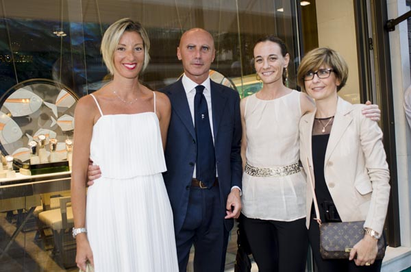 Silvia Caprile, Stefano Notari, Daniela Benvenuti, Elena Rusinenti