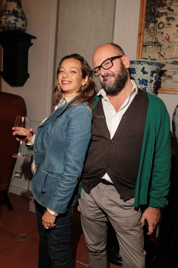 Simone Belocci e Barbara Caggiati