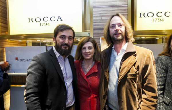 Stefano Bonaldo, Eleonora Chielli, Leonardo Visconti