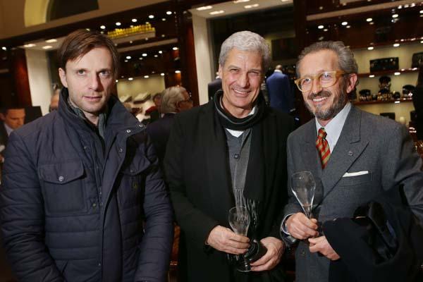Duccio Chelazzi, Enzo Rossi, Ugo Valentini