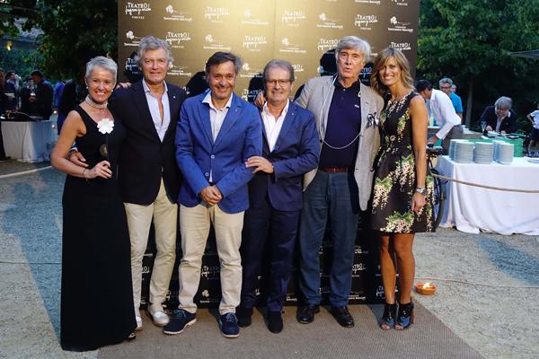 Lucrezia Rosi, Giancarlo Antognoni, Walter Santillo, Paolo Bacciotti, Daniele Amerini, Gaia Caiani