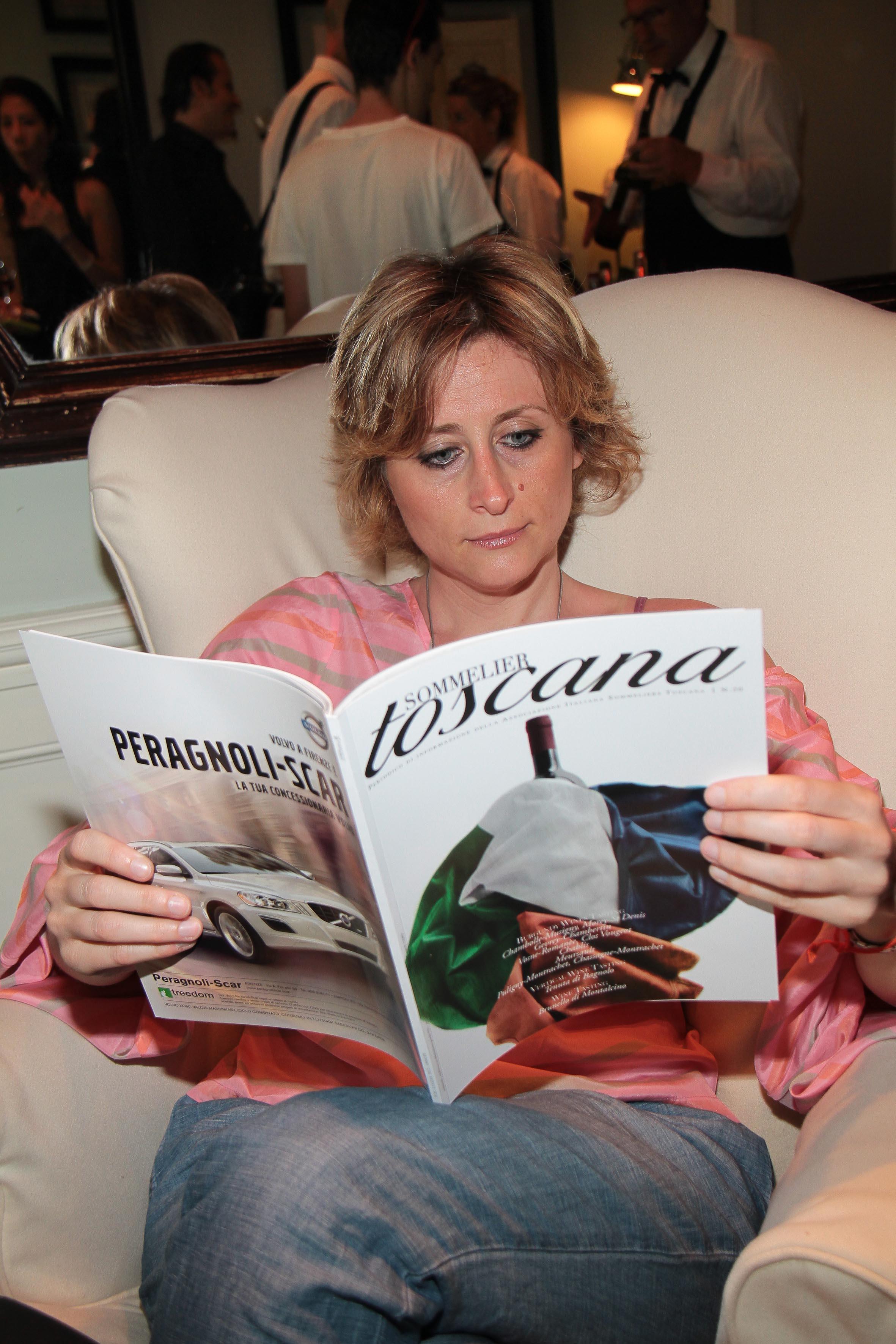 PRESSPHOTO Firenze, JK Place, Toscana Sommelier. Nella foto Sandra Salvato giuseppe cabras/new press photo