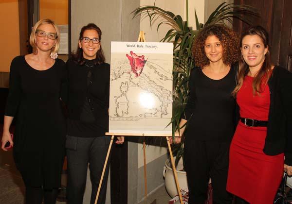 Valeria Falleroni, Simona Errico, Eva Mosconi, Lilit Boninsegni