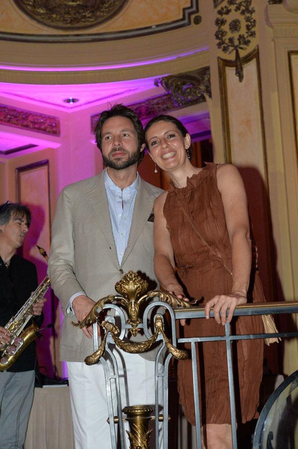 Ugo Ossani e Sara Lucci